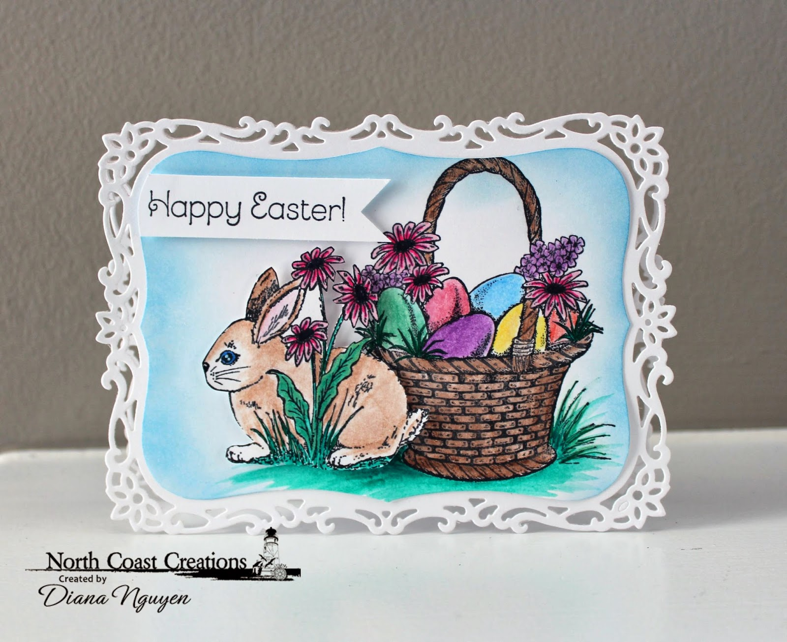 Diana Nguyen, North Coast Creation, Easter card