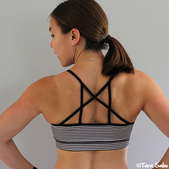 Low Impact Sports Bra, Yoga Bra, Stripes, Fitness Fashion, Fitness Clothing, FitFluential, Sweat Pink