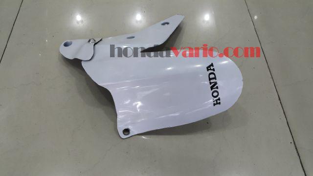 Aksesoris Honda Vario 150 eSP - Spakbor Kolong Roda Belakang warna Putih