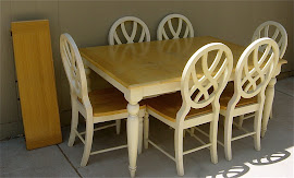 Table &amp; Chairs (SOLD)