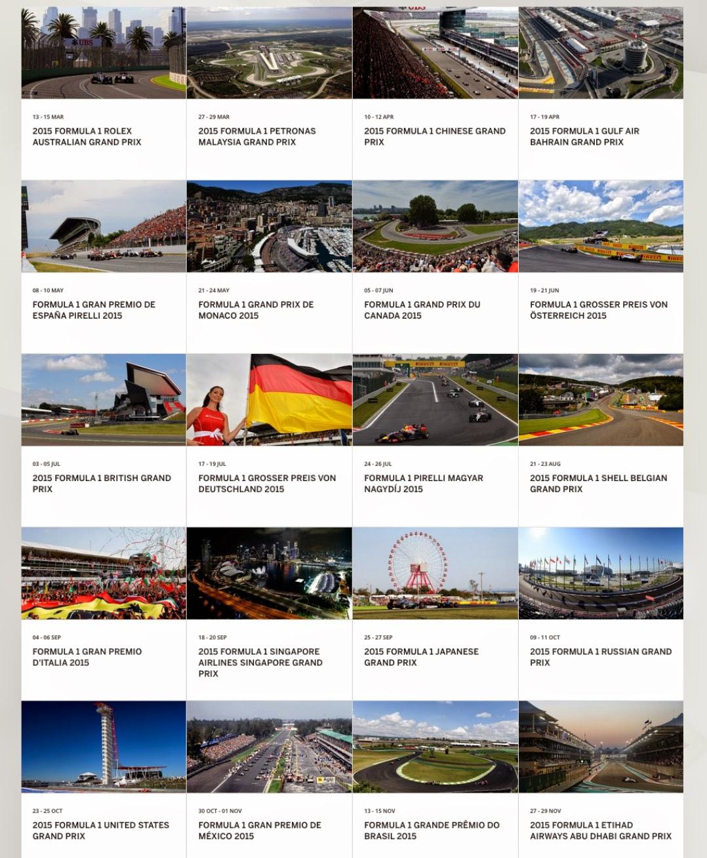 Pocket Hobby - www.pockethobby.com - F-1 - Calendário Geral !