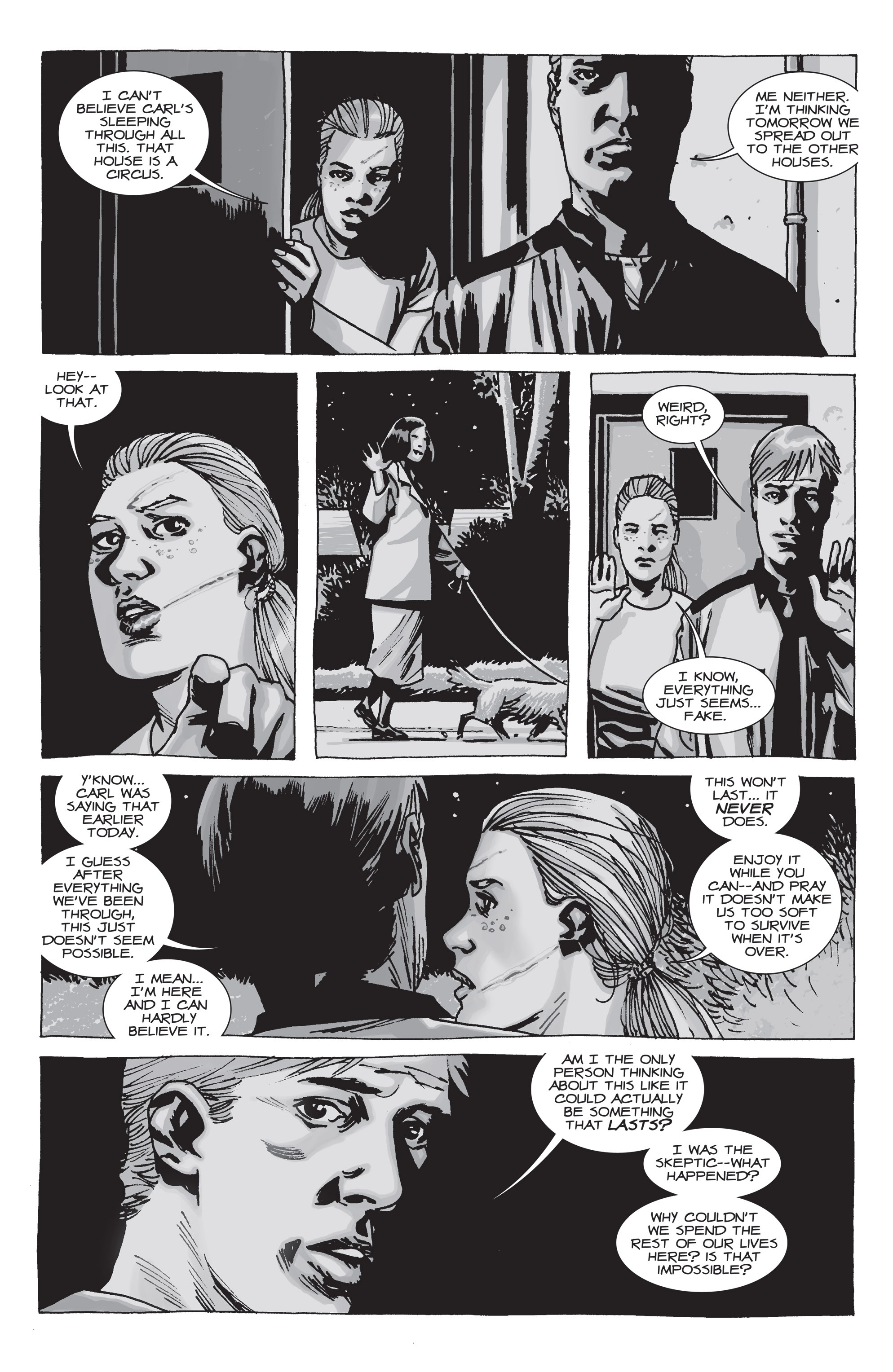 The Walking Dead Issue #71 Page 21
