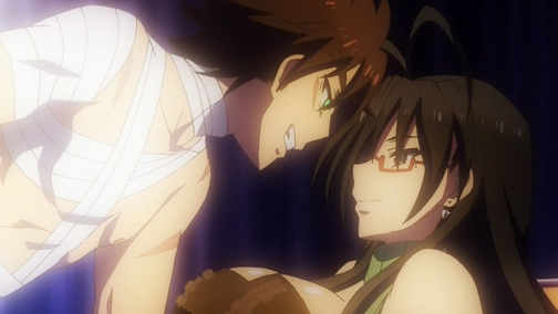 Shinmai Maou no Testament Burst - Episódio 03