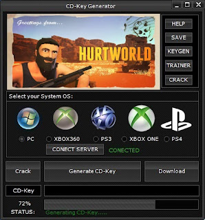 Hurtworld CD Key Generator (Free CD Key)