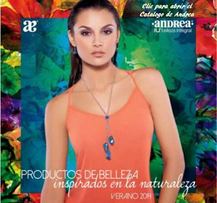 catalogo andrea belleza verano 2014
