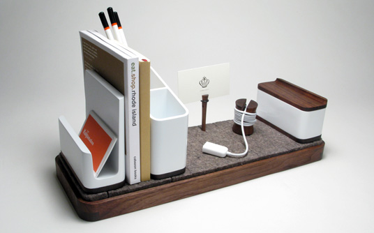 15 creative desk organizers and cool desk organizer designs - Modular desk organizer ...