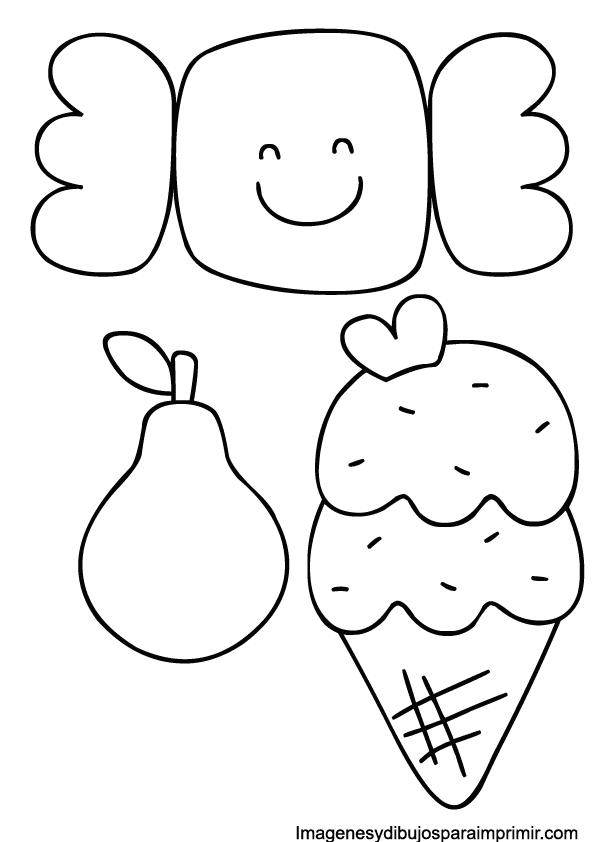 caramelo, helado