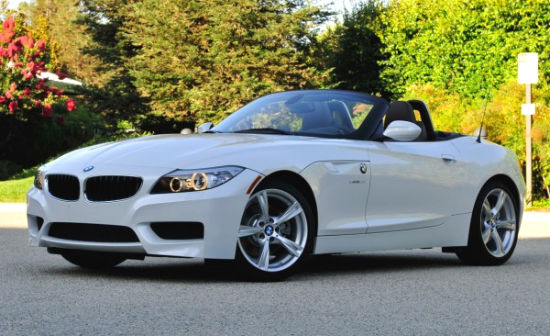 White Bmw Z4 Roadster 2017 Picture A Two Seater