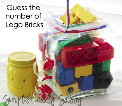 Guess How Many Lego Bricks
