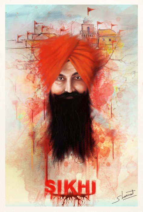 Bhai  Balwant Singh Rajoana New Wallpaper - Great Art Work