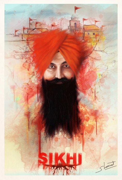 Bhai  Balwant Singh Rajoana New Wallpaper - Great Art Work