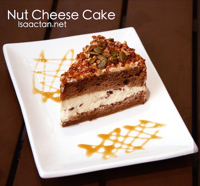 Nut Cheese Cake - RM10