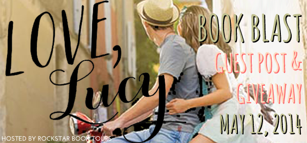 Book Blast: Love, Lucy by April Lindner {Guest Post and Giveaway}