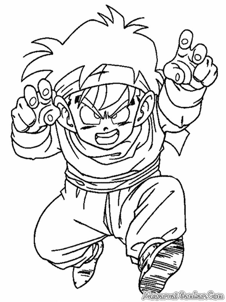Mewarnai Dragon Ball Z | Mewarnai Gambar