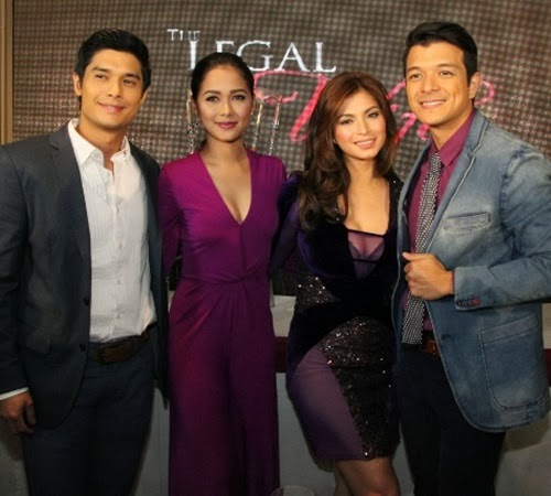 The Legal Wife lead stars JC de Vera, Maja Salvador, Angel Locsin and Jericho Rosales