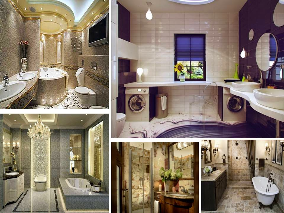 Luxury bathroom design decorating ideas