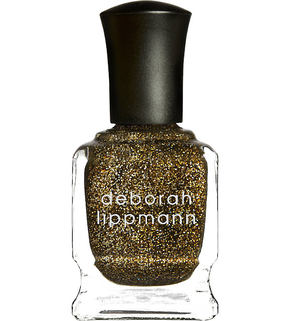 gold glitter nail polish, gold nail polish, deborah lippmann gold, best gold nail polish,