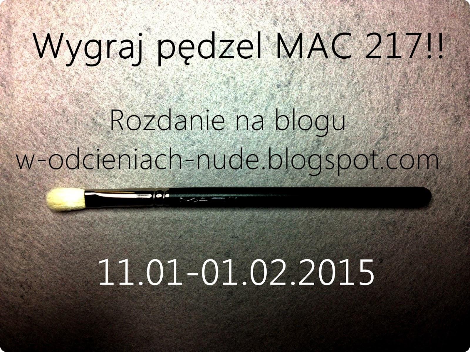 Rozdanie! Wygraj pędzel MAC 217