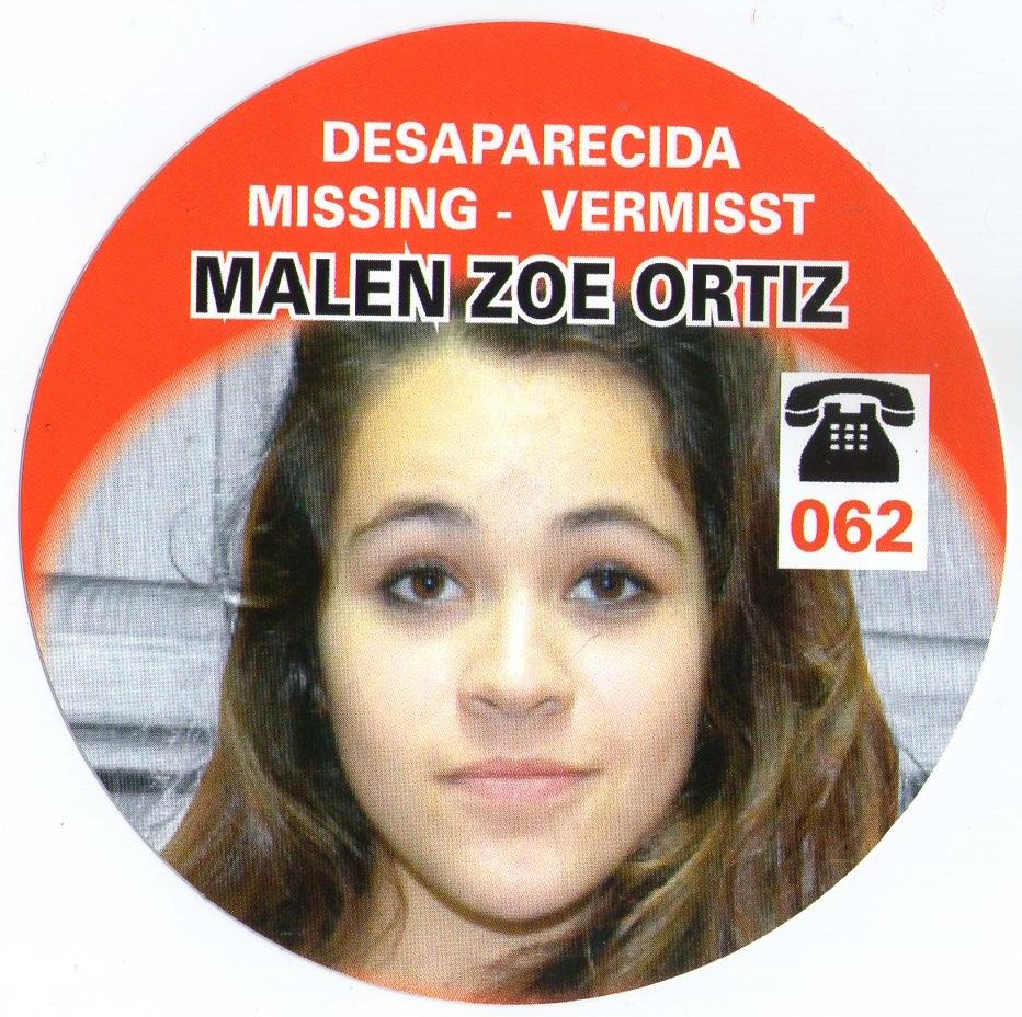 Desaparecida, Malen Zoe Ortiz