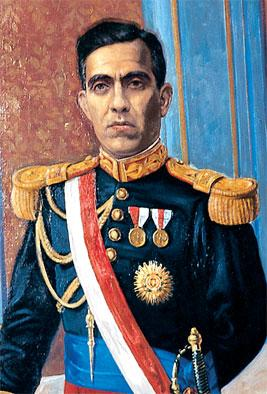 Retrato de Luis M. Sánchez Cerro