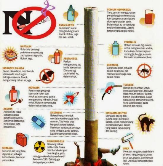 Kandungan Rokok dan Bahaya Merokok