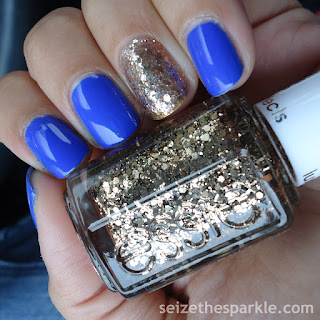 SinfulColors Endless Blue Accent Mani