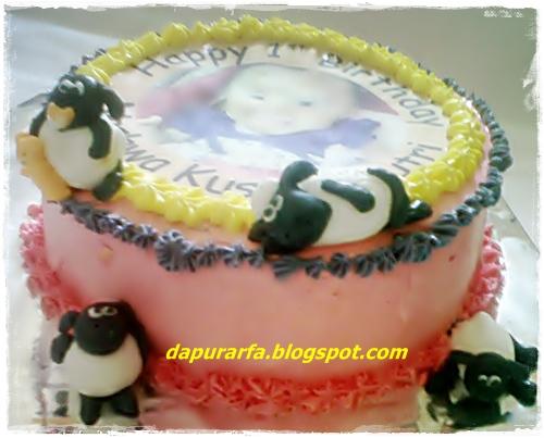 dapur arfa nashwa birthday