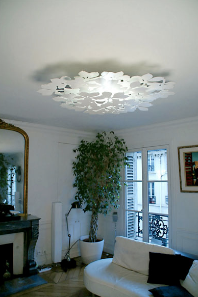 Lustre plafonnier luminaire for Luminaire lustre design