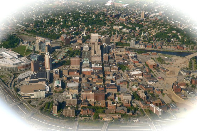 Downtown Providence from Above