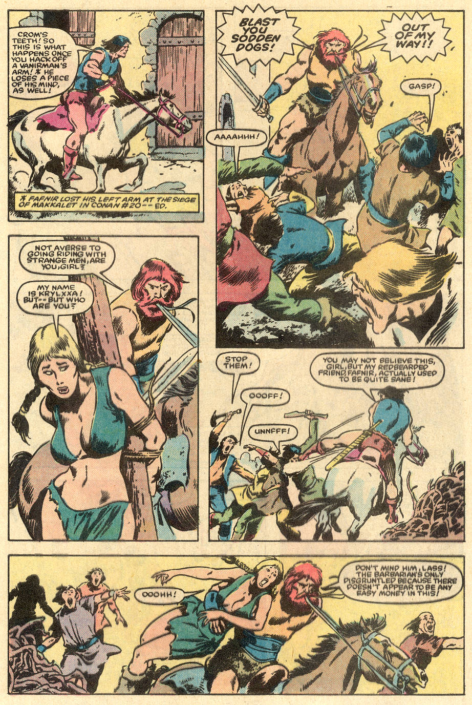 Conan the Barbarian (1970) Issue #163 #175 - English 4