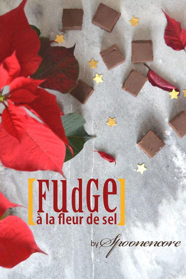 recette fudge chocolat noir sel