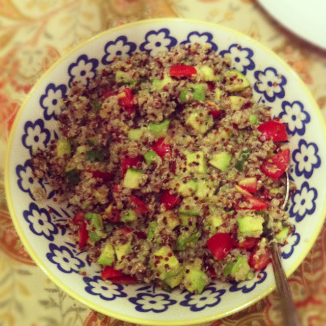 peace. love. & good food.: Tri-Color Quinoa Salad with ...