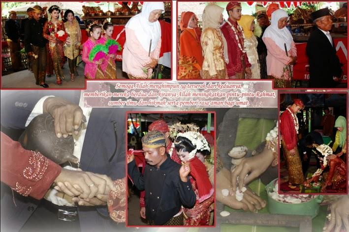 foto pernikahan adat jawa solo saat upacara adat panggeh