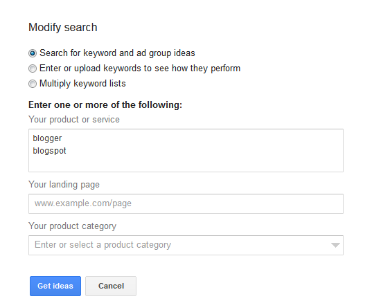 Google+Keyword+Planner+modify+search