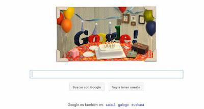 google 13 años