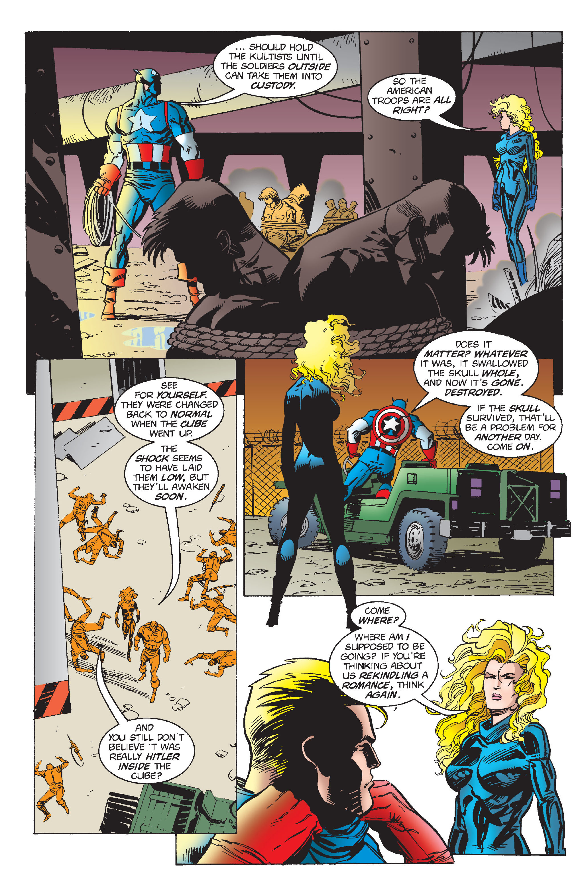 Captain America (1968) Issue #448 #402 - English 37