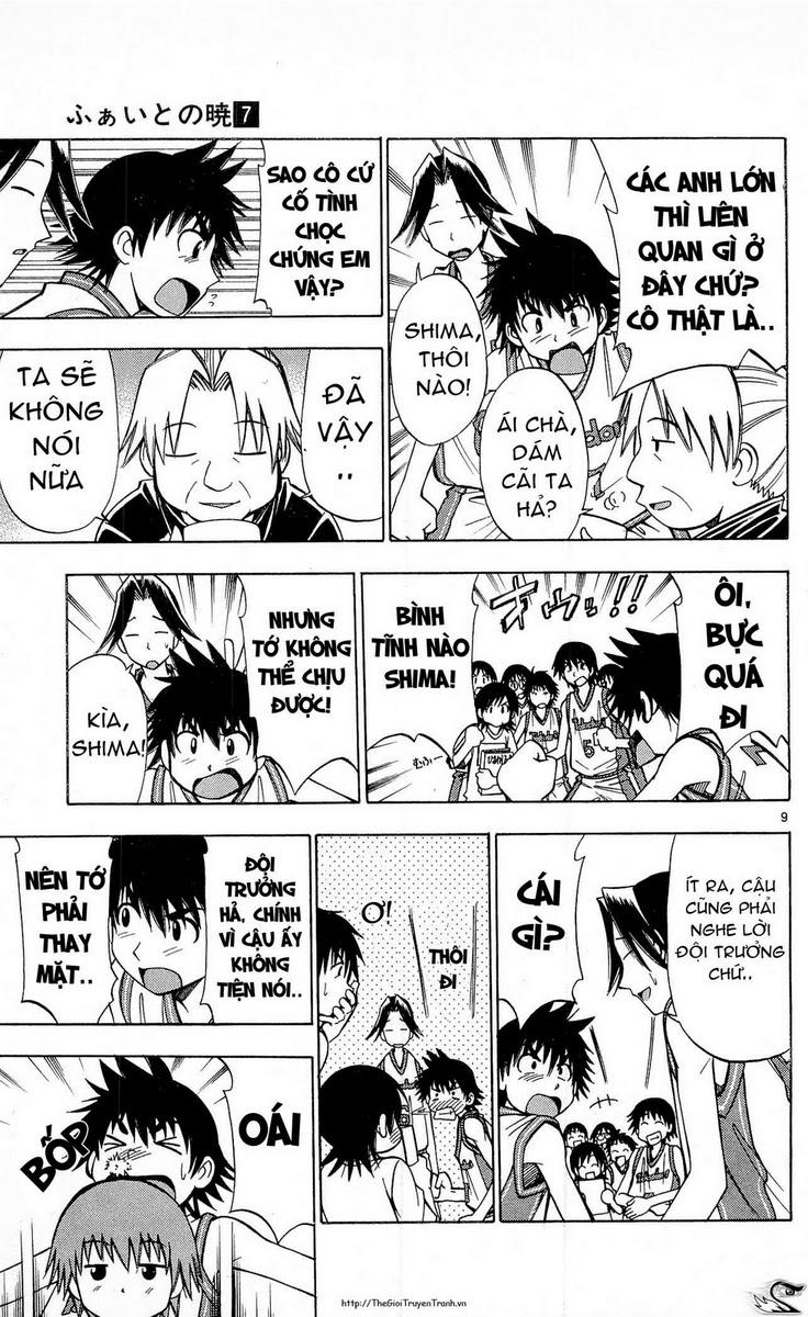 Fight no Akatsuki chap 65 Trang 9 - Mangak.info
