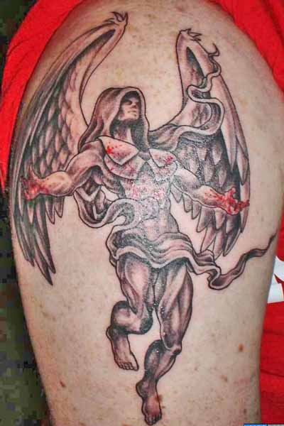 Guardian Angel Tattoo Designs | Popular Tattoo Designs