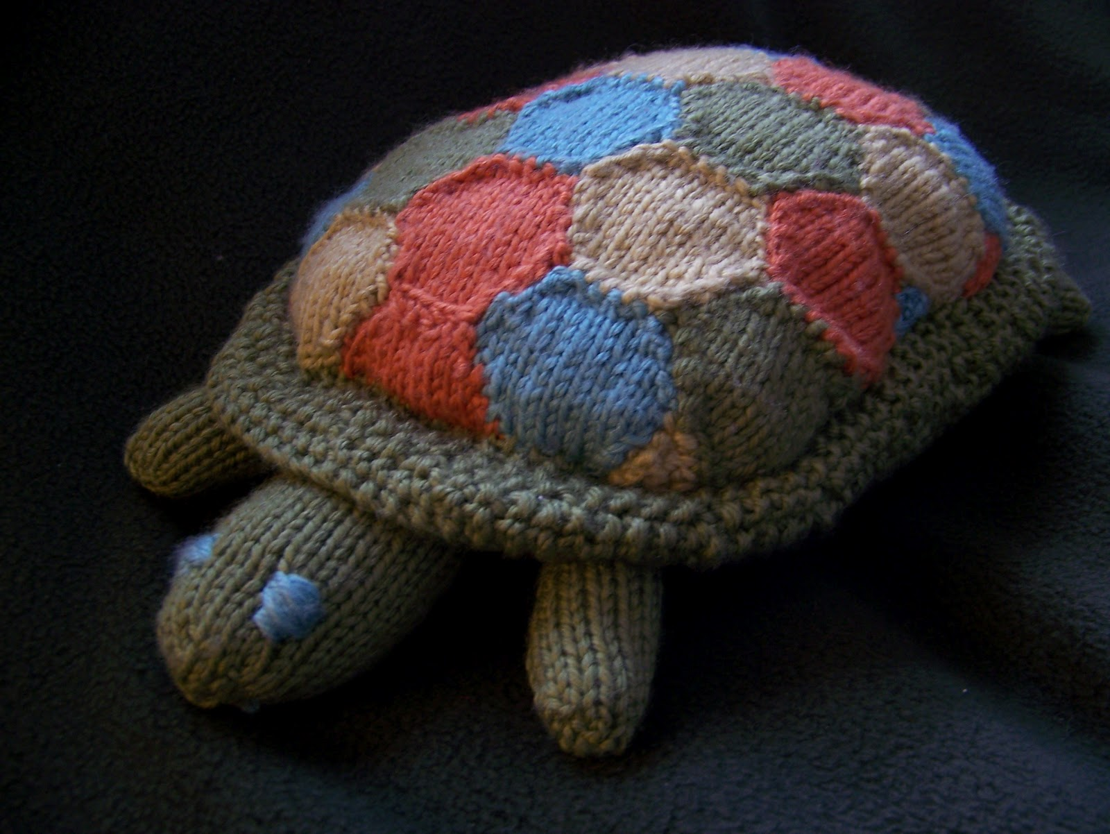 Knitted Turtle Pattern : Patchwork Turtle Bluffview Handiworks