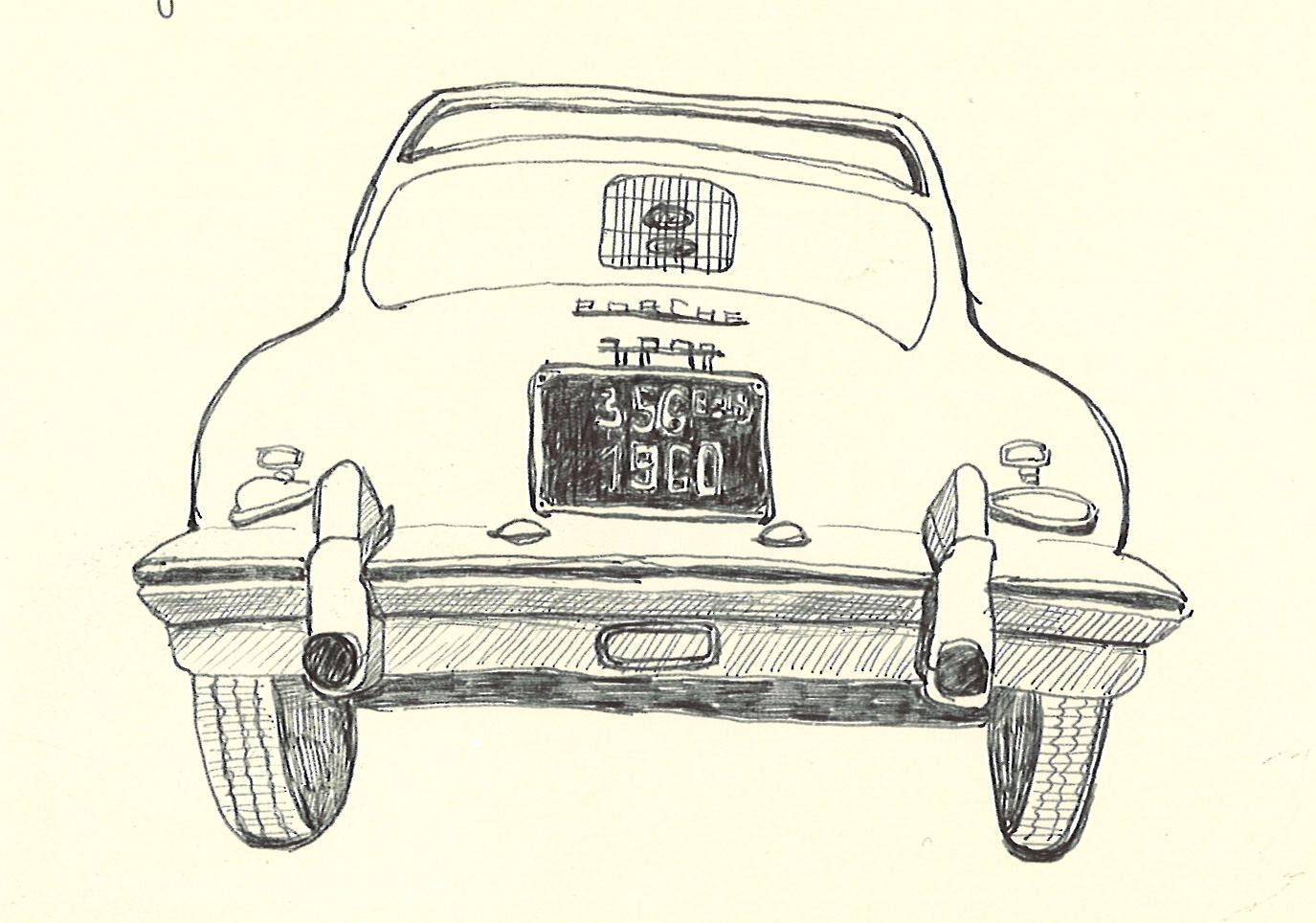 Carol\'s Drawing Journal: Vintage Car