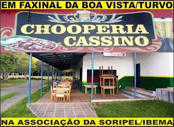 CHOOPERIA E PIZZARIA NA ASSOCIAÇÃO SORIPEL/IBEMA.