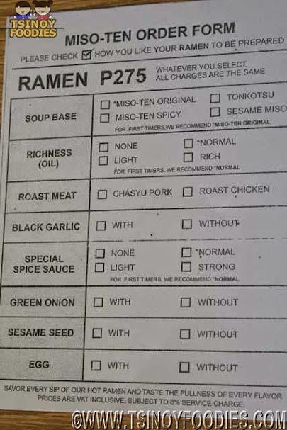 misoten order form