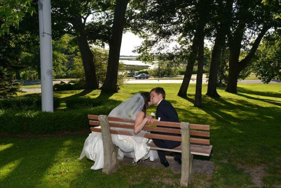 Stony Brook Harbor - Wedding Kiss