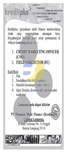 Recruitment PT. Finansia Multi Finance