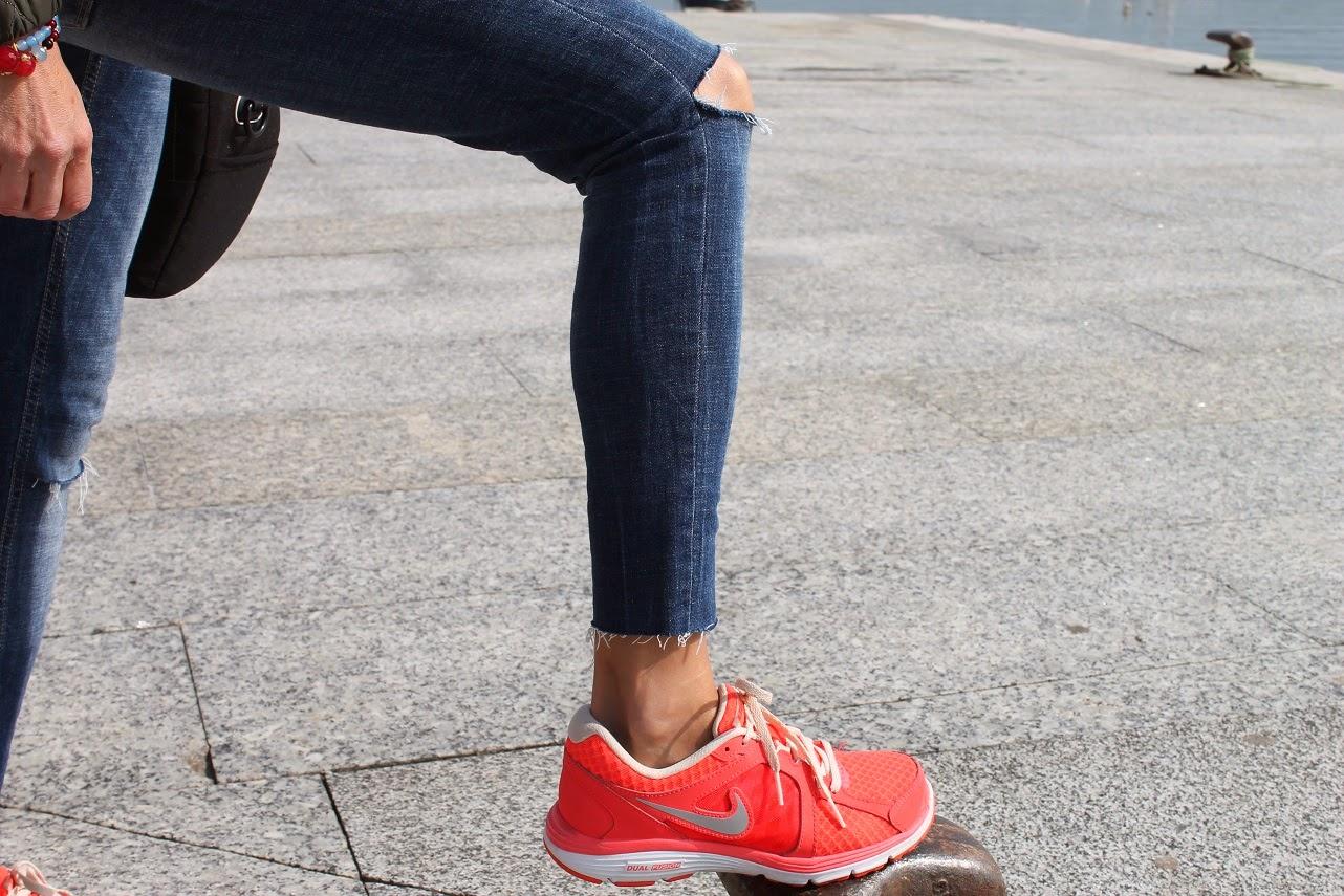 Look, street style, Nike, San Vicente de la Barquera, Cantabria, Moda en Cantabria, Blog Cantabria, Carmen Hummer, Vacaciones, Travel, Thinko, joyas, complementos