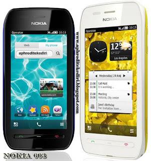 Spesifikasi Nokia 603