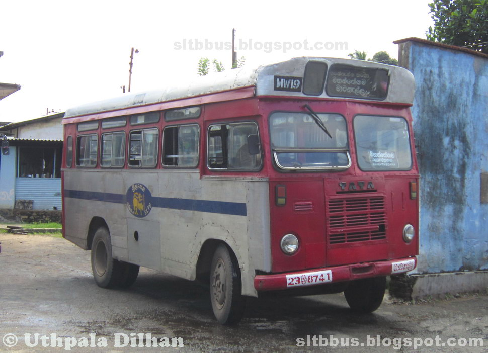 sltb buses classic slctb bodied tata 1210 d bus from sltb mawanella depot. Black Bedroom Furniture Sets. Home Design Ideas
