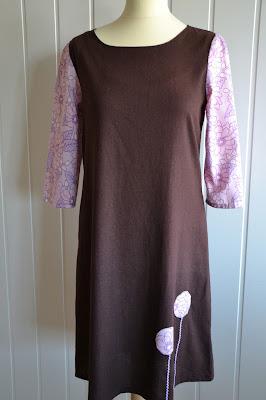 kjole hjemmesydd