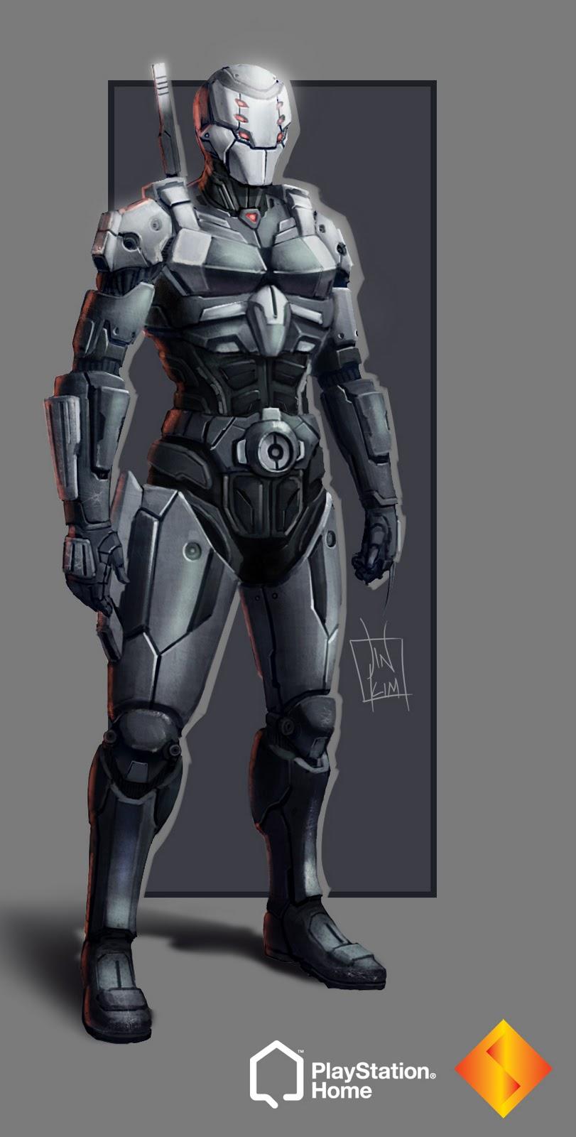 Future Ninja Armor Cyber Future Ninja 12Futuristic Ninja Armor
