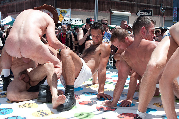 gay twister Amateur naked